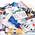 100% Polyester Fabric Woven Clothing Labels garment tags and labels